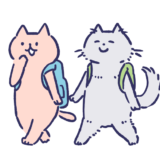 猫の旅行者